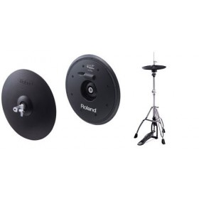 Cymbale hi-hat Vh11 Roland + pied