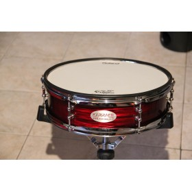 caisse claire ripple red