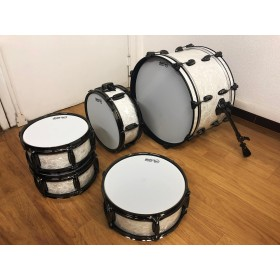 Kit de pads white Pearl