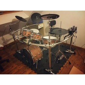 TD-25 KARRACE, ripple Red (3 cymbal version)